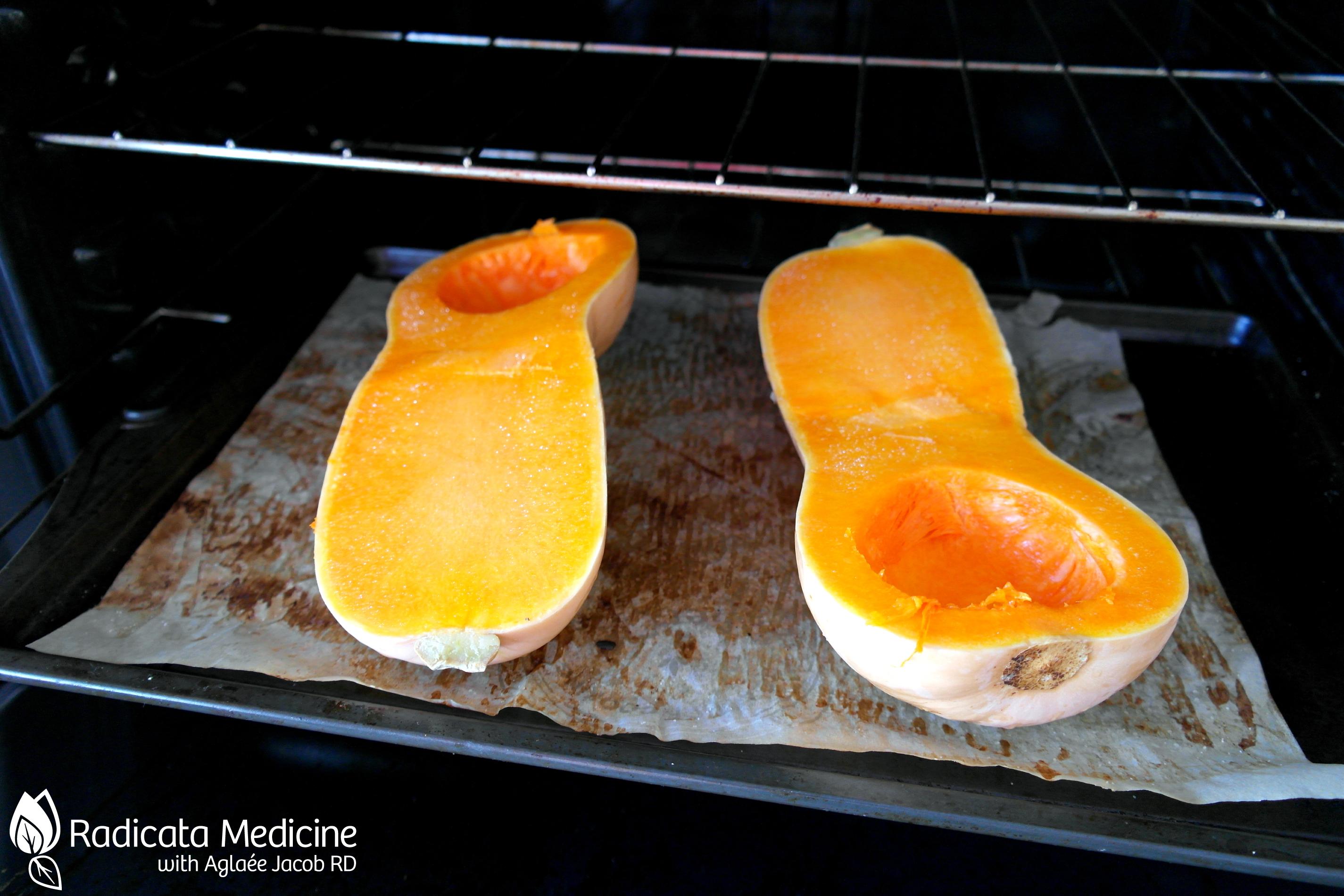 Courge butternut au four je me mets au pal o - Comment cuisiner une courge butternut ...