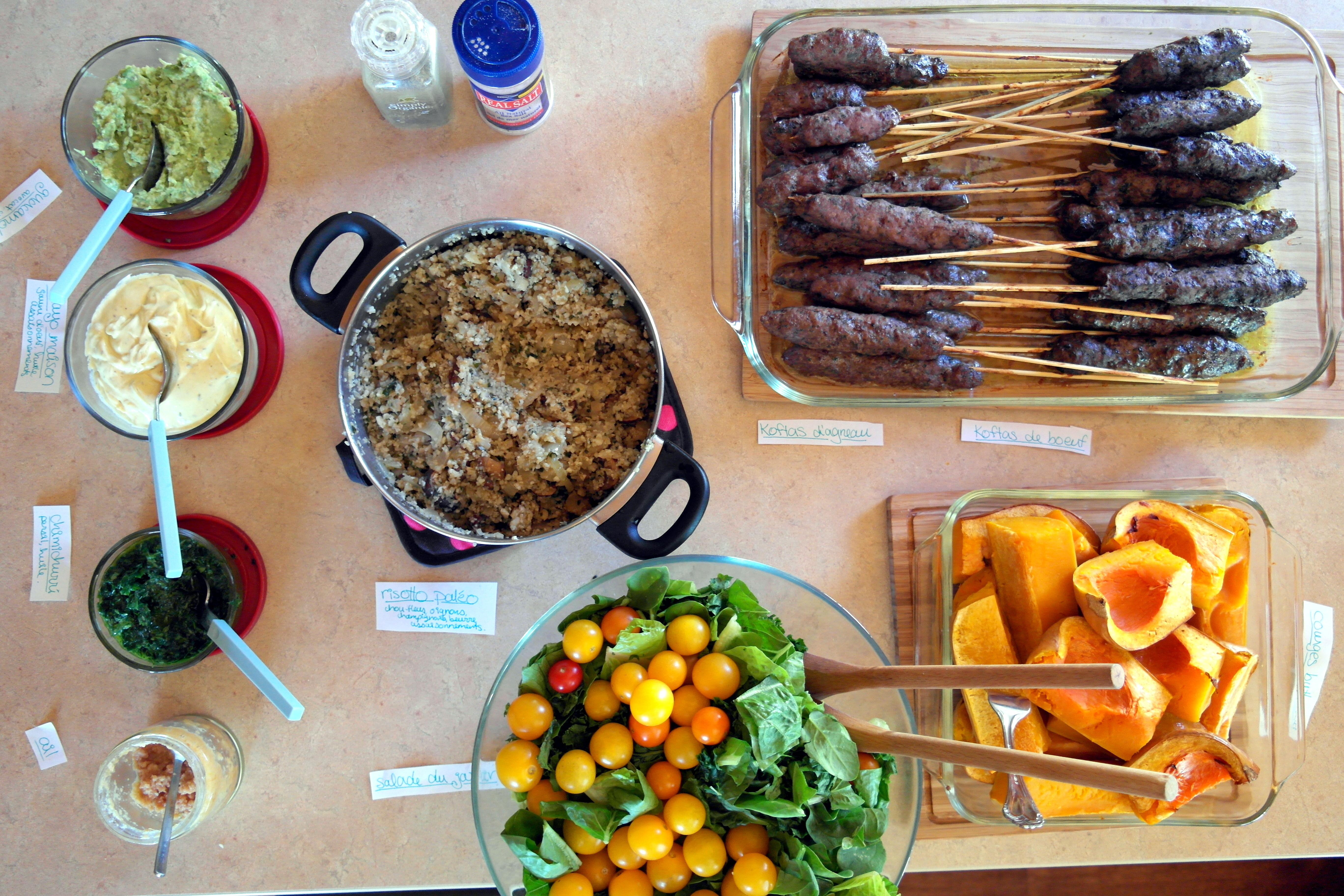 voici ce que mon buffet palo et sans gluten incluait - Idee De Buffet